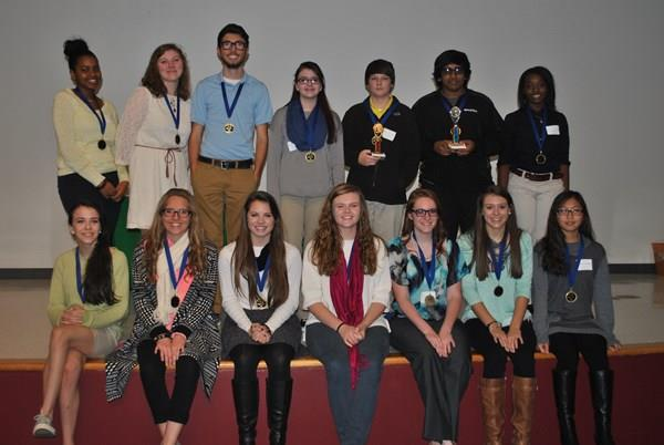 2015 Science Fair 1st place winners